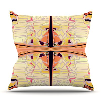 Naranda by Nina May Outdoor Throw Pillow