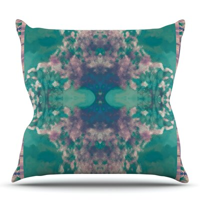 Ashby Blossom by Nina May Outdoor Throw Pillow