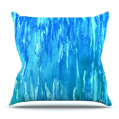 Wet and Wild by Rosie Brown Outdoor Throw Pillow