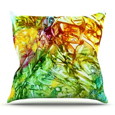 Kaleidoscope by Rosie Brown Outdoor Throw Pillow