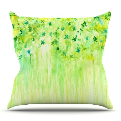 April Showers by Rosie Brown Outdoor Throw Pillow