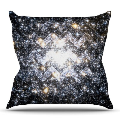 Messier Chevron by Suzanne Carter Outdoor Throw Pillow
