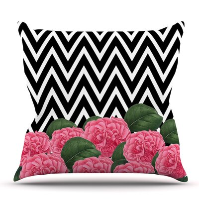 Camellia by Suzanne Carter Outdoor Throw Pillow