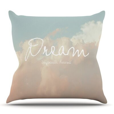 Dream by Suzanne Carter Outdoor Throw Pillow