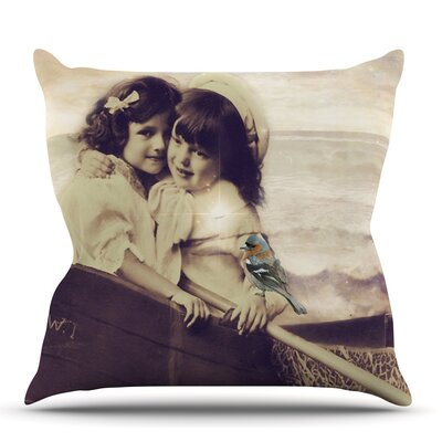 Journey by Suzanne Carter Outdoor Throw Pillow