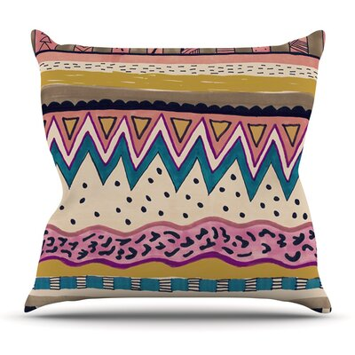 Koko by Vasare Nar Outdoor Throw Pillow