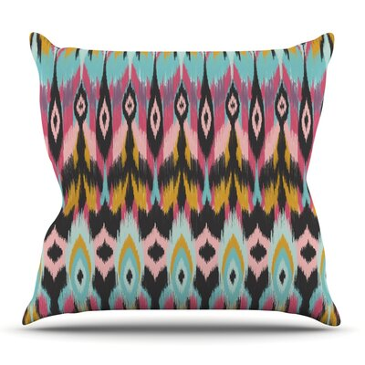 Boho Tribal by Amanda Lane Outdoor Throw Pillow