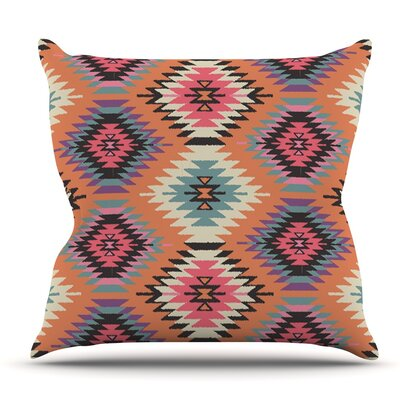 Navajo Dreams by Amanda Lane Outdoor Throw Pillow