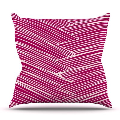 Loom by Anchobee Outdoor Throw Pillow