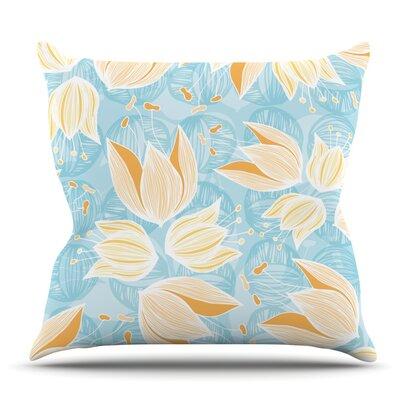 Giallo by Anchobee Outdoor Throw Pillow