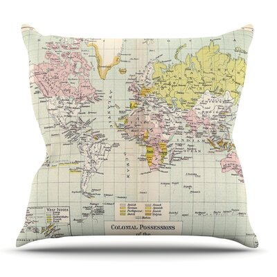 Travel by Catherine Holcombe Outdoor Throw Pillow