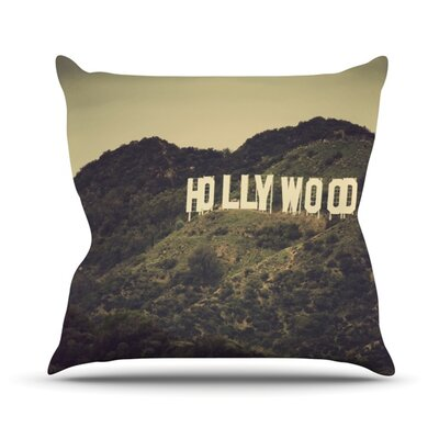 Hollywood Outdoor Throw Pillow