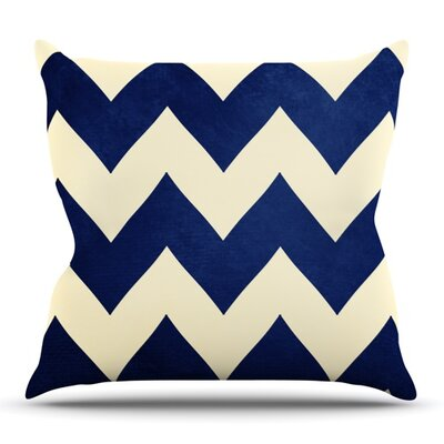 Fleet Week by Catherine McDonald Outdoor Throw Pillow
