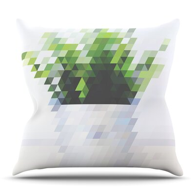 Plant by Danny Ivan Outdoor Throw Pillow