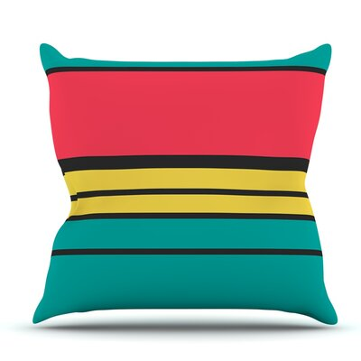 Simple by Danny Ivan Outdoor Throw Pillow