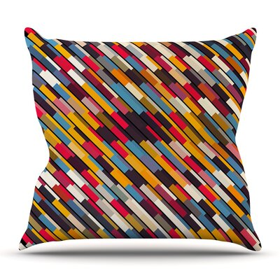 Texturize by Danny Ivan Outdoor Throw Pillow