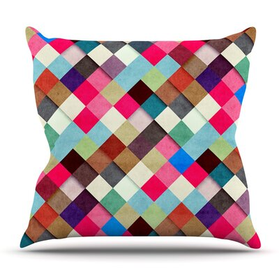 Ubrik by Danny Ivan Outdoor Throw Pillow