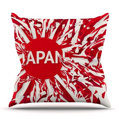 Japan by Danny Ivan Outdoor Throw Pillow