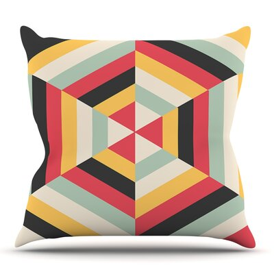 On Call by Danny Ivan Outdoor Throw Pillow