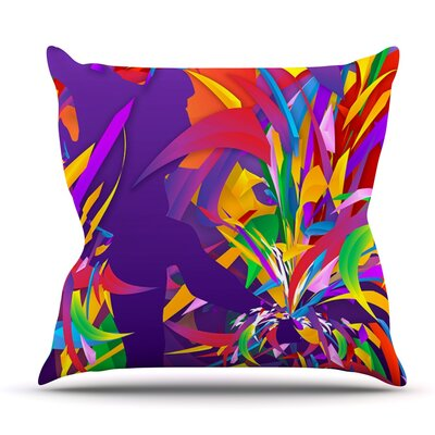 Shooting by Danny Ivan Outdoor Throw Pillow