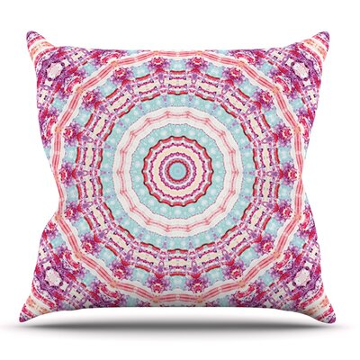 Happy by Iris Lehnhardt Outdoor Throw Pillow