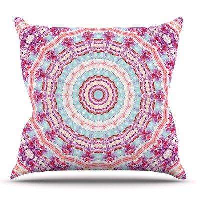 Happy by Iris Lehnhardt Outdoor Throw Pillow