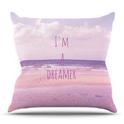 Im a Dreamer by Iris Lehnhardt Outdoor Throw Pillow