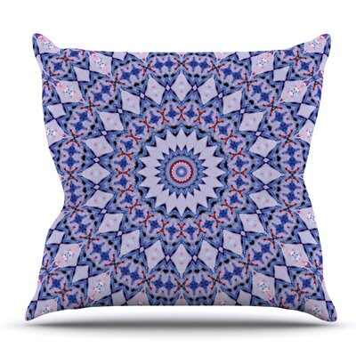 Kaleidoscope by Iris Lehnhardt Outdoor Throw Pillow