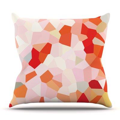 Oooh La La by Iris Lehnhardt Outdoor Throw Pillow
