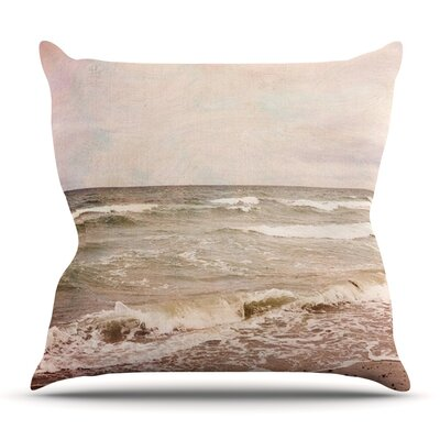 Romantic Sea by Iris Lehnhardt Outdoor Throw Pillow