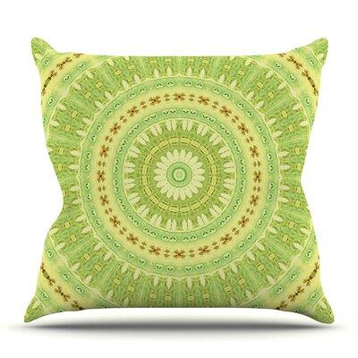 Wheel of Spring by Iris Lehnhardt Outdoor Throw Pillow
