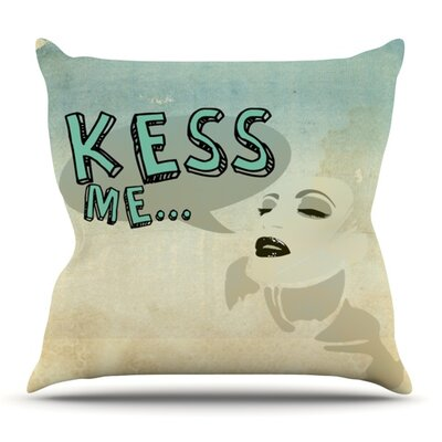 KESS Me by iRuz33 Outdoor Throw Pillow