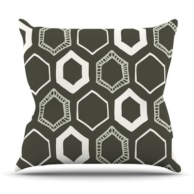 Hexy by Laurie Baars Outdoor Throw Pillow