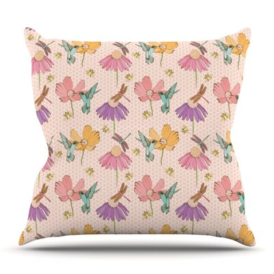 Magic Garden by Laura Escalante Outdoor Throw Pillow