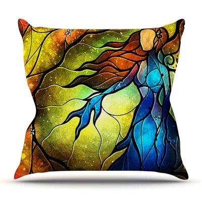 Wishing You Were by Mandie Manzano Outdoor Throw Pillow