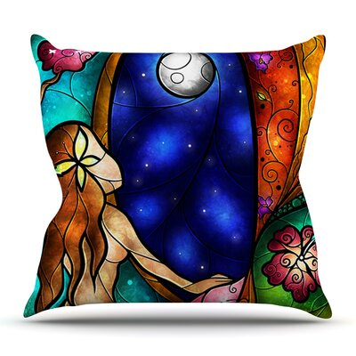 I Miss You by Mandie Manzano Outdoor Throw Pillow