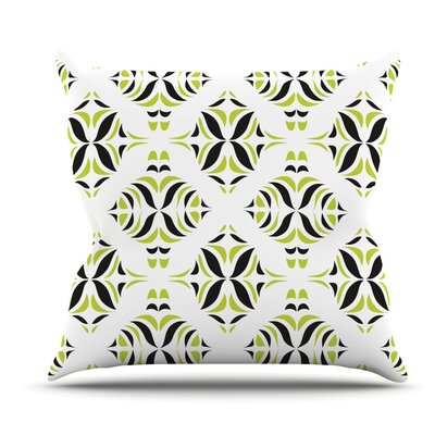 Rainforest by Miranda Mol Outdoor Throw Pillow
