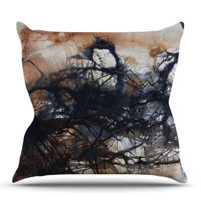 Looking for Water by Steve Dix Outdoor Throw Pillow