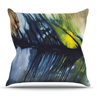 Gravity Falling by Steve Dix Outdoor Throw Pillow