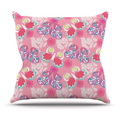 Baroque Butterflies by Anneline Sophia Outdoor Throw Pillow
