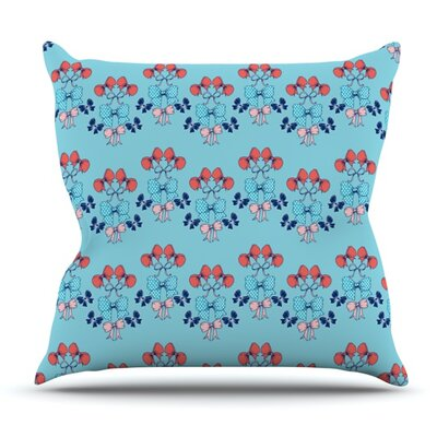 Bows by Anneline Sophia Outdoor Throw Pillow
