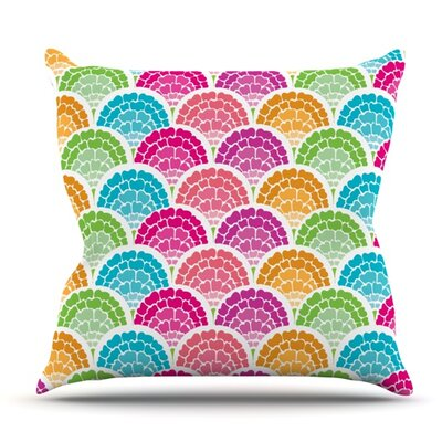 Rina by Anneline Sophia Outdoor Throw Pillow