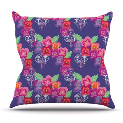 Beautifully Boho by Anneline Sophia Outdoor Throw Pillow