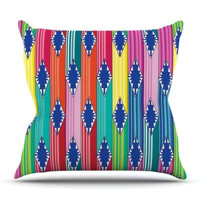 Blanket by Anneline Sophia Outdoor Throw Pillow