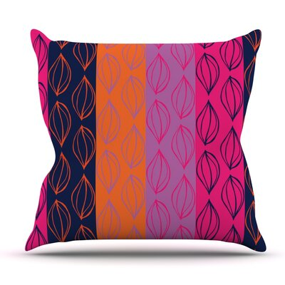 Tropical Seeds by Anneline Sophia Outdoor Throw Pillow