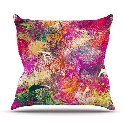 Splash by Danny Ivan Outdoor Throw Pillow