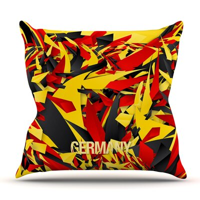 Germany by Danny Ivan Outdoor Throw Pillow