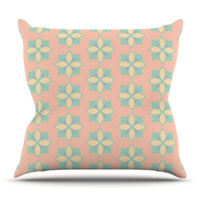 Pattern #1 by Deepti Munshaw Outdoor Throw Pillow