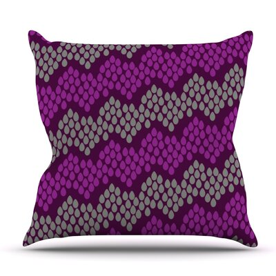 Pattern #2 by Deepti Munshaw Outdoor Throw Pillow