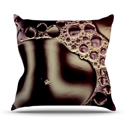 Deep by Ingrid Beddoes Outdoor Throw Pillow